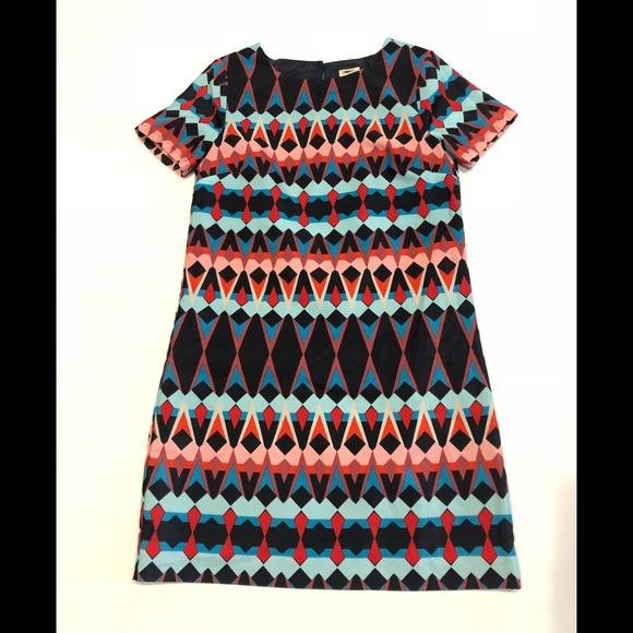J. Crew Dresses & Skirts - 🍎 J Crew colorful mini dress 0